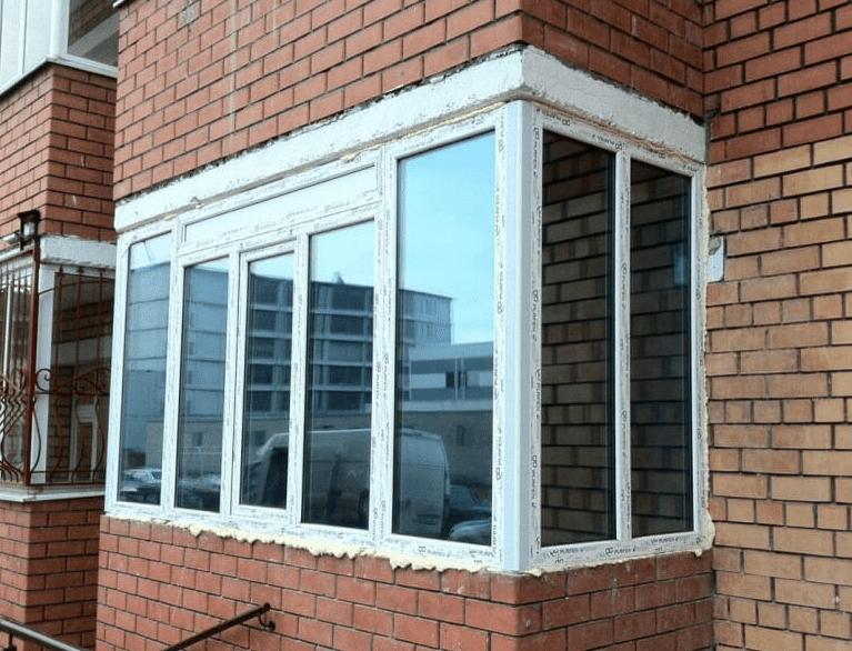 Тонированные металлопластиковые окна в Киеве