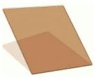 Палитра тонировки стеклопакетов - R Gold 50, 1000*1000 мм