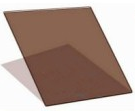 Палитра тонировки стеклопакетов - R Bronze 10, 1000*1000 мм
