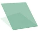 Палитра тонировки стеклопакетов - R Green 10, 1000*1000 мм