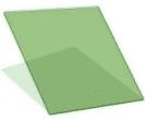 Палитра тонировки стеклопакетов - HP Green 30, 1000*1000 мм